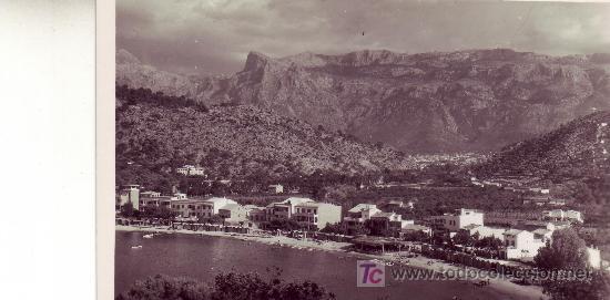 POSTAL FOTOGRAFICA.MALLORCA.SOLLER.SIN CIRCULAR. (Postales - España - Baleares Moderna (desde 1.940))