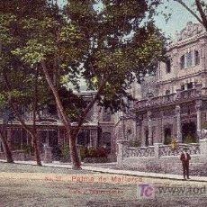 Postales: PALMA DE MALLORCA.CAFE Y TEATRO LIRICO.SIN CIRCULAR.. Lote 19777236