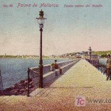 Postales: POSTAL PALMA DE MALLORCA.PASEO NUEVO DEL MUELLE.CIRCULADA EN 1926.VER FOTO ADICIONAL.. Lote 26464021