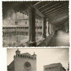 Postales: DOS POSTALES COLEGIO, CLAUSTRO Y BASILICA COLEGIO SAN FRANCISCO PALMA MALLORCA. Lote 22605661