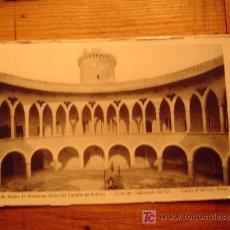 Postales: POSTAL DE PALMA DE MALLORCA-46 PATIO DEL CASTILLO DE BELLVER. Lote 19889394
