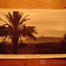 Postales: POSTAL DE PALMA DE MALLORCA-44 CASTILLO DE BELLVER AL ANOCHECER. Lote 19889395