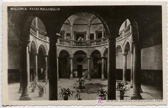MALLORCA, PATIO MALLORQUIN, P15933 (Postales - España - Baleares Antigua (hasta 1939))