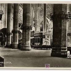 Postkarten - PALMA DE MALLORCA, CATEDRAL, INTERIOR, P15939 - 6062997