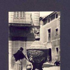 Postales: POSTAL DE POLLENÇA (ILLES BALEARS): FONT DEL GALL (FOTO TRUYOL) (ANIMADA). Lote 6349695
