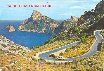 7-1157. CARRETERA A FORMENTOR. MALLORCA (Postales - España - Baleares Moderna (desde 1.940))