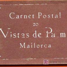 Postales: POE1 07026 COLECCION DE 20 POSTALES DE MALLORCA. Lote 27385443