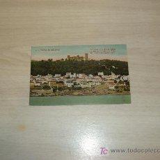 Postales: PALMA DE MALLORCA,EL TERRENO Y CASTILLO DE BELLVER. Lote 8659842