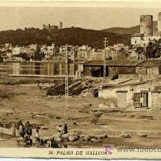 Postales: LIBRITO CON 9 POSTALES DE PALMA DE MALLORCA. Lote 26229979