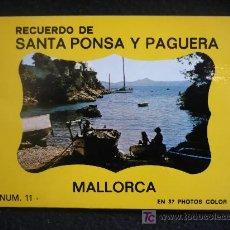 Postales: RECUERDO DE SANTA PONSA Y PAGUERA. MALLORCA. 37 FOTOS EN COLOR.. Lote 9154021