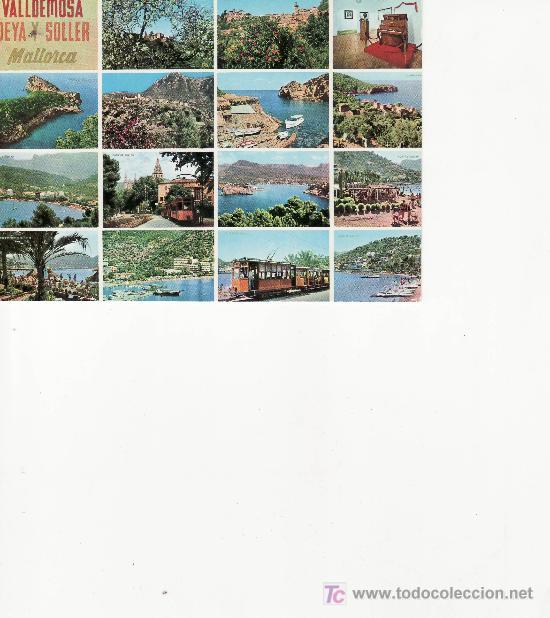 VALLEDEMOSSA.DEIA Y SOLLER. ICARIO FOTO-CINE (Postales - España - Baleares Moderna (desde 1.940))