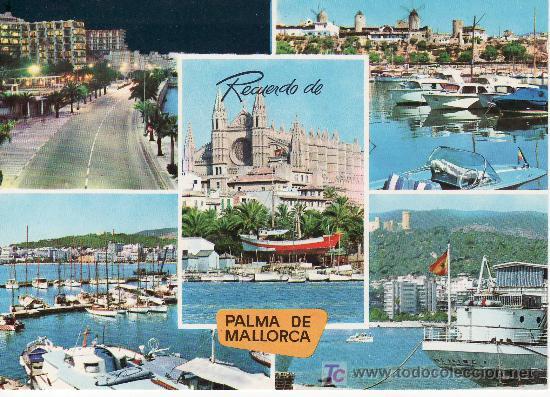 PALMA DE MALLORCA. Nº 1525. ICARIA FOTO-CINE. (Postales - España - Baleares Moderna (desde 1.940))