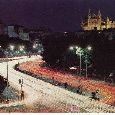 Postales: PALMA DE MALLORCA. DETALLE NOCTURNO.Nº 993 ZERKOWITZ.DISTRIBUIDORA ROTGER. Lote 7747991