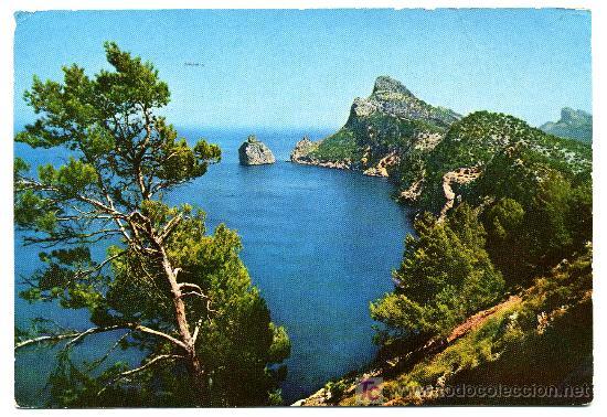 MALLORCA - FORMENTOR ES COLOMÉ- FRANQUEADA Y ESCRITA 1962 (VER FOTO) (Postales - España - Baleares Moderna (desde 1.940))