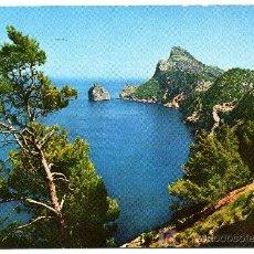 Postales: MALLORCA - FORMENTOR ES COLOMÉ- FRANQUEADA Y ESCRITA 1962 (VER FOTO). Lote 26518428