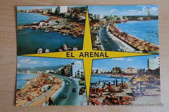 POSTAL ANTIGUA DE MALLORCA. EL ARENAL (Postales - España - Baleares Moderna (desde 1.940))