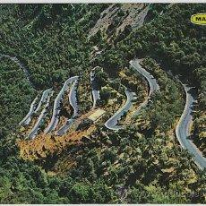 Postales: MALLORCA (BALEARES) ESPAÑA . SOLLER - CARRETERA DEL COLL. VISTA AÉREA.. Lote 8303941