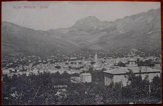 POSTAL MALLORCA --- SOLLER (Postales - España - Baleares Antigua (hasta 1939))