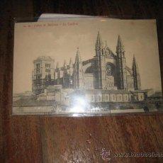 Postales: PALMA DE MALLORCA - LA CATEDRAL . Lote 9481892