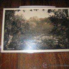 Postales: MALLORCA SOLLER : VILLA Y ' PICO MAYOR'. Lote 8630399