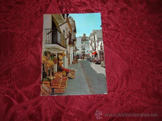 IBIZA ,CIUDAD CALLE TIPICA,EXCLUSIVAS CASA FIGUERETAS (Postales - España - Baleares Moderna (desde 1.940))