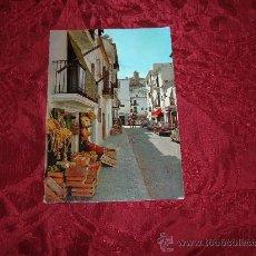 Postales: IBIZA ,CIUDAD CALLE TIPICA,EXCLUSIVAS CASA FIGUERETAS. Lote 9045808