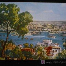 Postales: POSTAL MALLORCA PINTADA L.SANCHEZ. ED.JHERR. SIN CIRCULAR. . Lote 11283274