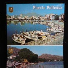 Postales: FORMENTOR. PUERO POLLENSA. 10 POSTALES ACORDEON ESCUDO DE ORO. SIN CIRCULAR. . Lote 9150028