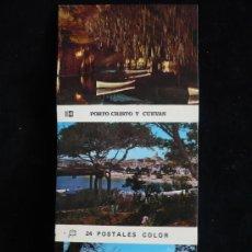 Postales: ESTUCHE 24 POSTALES PORTO CRISTO Y CUEVAS. 8X10. Lote 9154510
