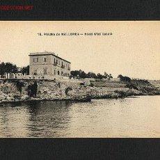 Postales: POSTAL DE PALMA DE MALLORCA (ILLES BALEARS): HOTEL CAS CATALÀ (ARRIBAS NUM.18). Lote 1073448