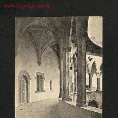 Postales: POSTAL DE MALLORCA (BALEARS): GALERIA DEL CASTELL DE BELLVER (FOT.LACOSTE, NUM.41). Lote 1176975