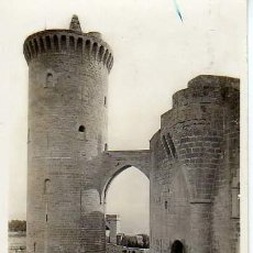 Postales: POSTAL DE MALLORCA - CASTILLO DE BELLVER - TORRE DEL HOMENAJE. Lote 9792647
