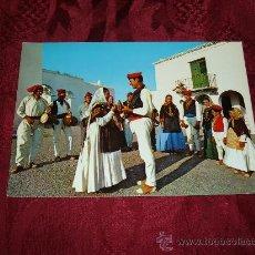 Postales: IBIZA,SAN MIGUEL DANZA TIPICA,EXCLUSIVAS FIGUERETAS S ANTONIO ABAD. Lote 9867110