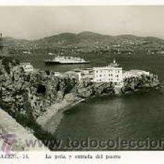 Postales: IBIZA.- LA PEÑA Y ENTRADA AL PUERTO.- FOTO VIÑETS Nº 34. Lote 24851771