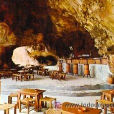 Postales: TARJETA POSTAL DE LA ISLA DE MENORCA COVA D'EN XOROI COLECCION LUCIA MORA Nº 63 DEL AÑO 1967. Lote 10110587