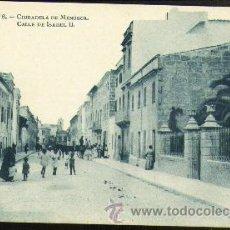 Postales: CIUDADELA, CALLE ISABEL II. SERIE 1, Nº 6. Lote 19440690