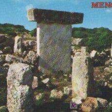 Postales: TARJETA POSTAL DE LA ISLA DE MENORCA TAULA DE TORRALBA COLECCION PERLA Nº 4080 DE 1976. Lote 173528122