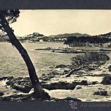 Postales: POSTAL D' EIVISSA (ILLES BALEARS): SANTA EULALIA DEL RIU, VISTA PARCIAL. IBIZA (NUM.8). Lote 10189184