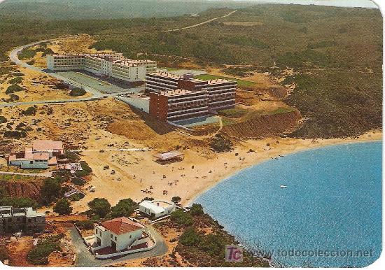 TARJETA POSTAL DE LA ISLA DE MENORCA HOTEL AGUAMARINA COLECCION COLOR POSTAL Nº MH- 9045 (Postales - España - Baleares Moderna (desde 1.940))