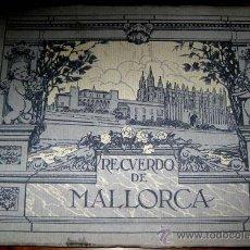 Postales: ANTIGUO ALBUM DE FOTOGRAFIAS RECUERDO DE MALLORCA - TIENE 24 PAGINAS, LAS FOTOGRAFIAS VAN IMPRESAS Y. Lote 26892003
