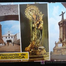 Postales: MENORCA. SIN CIRCULAR. Lote 10510265