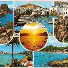 Postales: POSTAL A COLOR 280 IBIZA ISLAS BALEARES EXCL CASA FIGUERETA CIRCULADA 1974. Lote 10711015