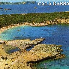 Postales: IBIZA,BALEARES-ISLA BLANCA.CALA BASSA. Lote 10749745