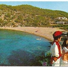 Postales: IBIZA-PUERTO DE SAN MIGUEL-Nº 1383 EXCLUSIVAS CASA FIGUERETAS-1966-VELL I BELL . Lote 25185132