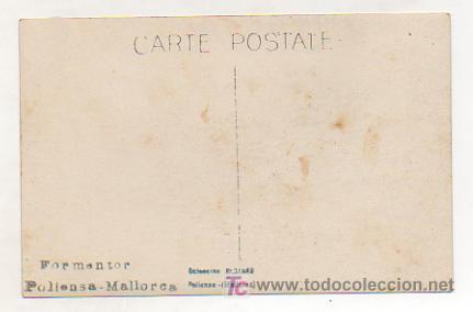 Postales: FORMENTOR. POLLENSA. MALLORCA. (COLECCIÓN BESTARD). (POSTAL FOTOGRÁFICA). - Foto 2 - 11960126