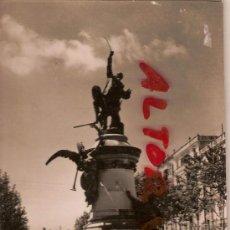 Postales: ANTIGUA POSTAL IBIZA BALEARES MONUMENTO AL GENERAL VARA DE REY FOTO A CAMPAÑA CIRCULADA 1954. Lote 11993802
