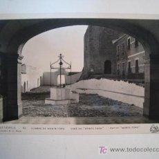 Postales: POSTAL MENORCA: CUMBRE DE MONTE TORO (ORIOL 62). Lote 12050169