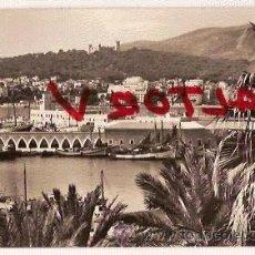 Postales: ANTIGUA POSTAL 2028 MALLORCA PALMA VISTA PARCIAL DEL PUERTO DESDE LA LONJA FOTO CASA PLANAS CIRCULAD. Lote 12354770