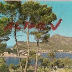 Postales: POSTAL A COLOR MALLORCA BALEARES SOLLER VISTA PARCIAL DEL PUERTO FOTO PLANAS CIRCULADA 1963. Lote 12499389