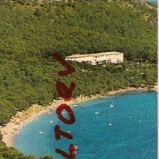 Postales: POSTAL A COLOR MALLORCA POLLENSA PLAYA HOTEL FORMENTOR FOTO PLANAS. Lote 12499431